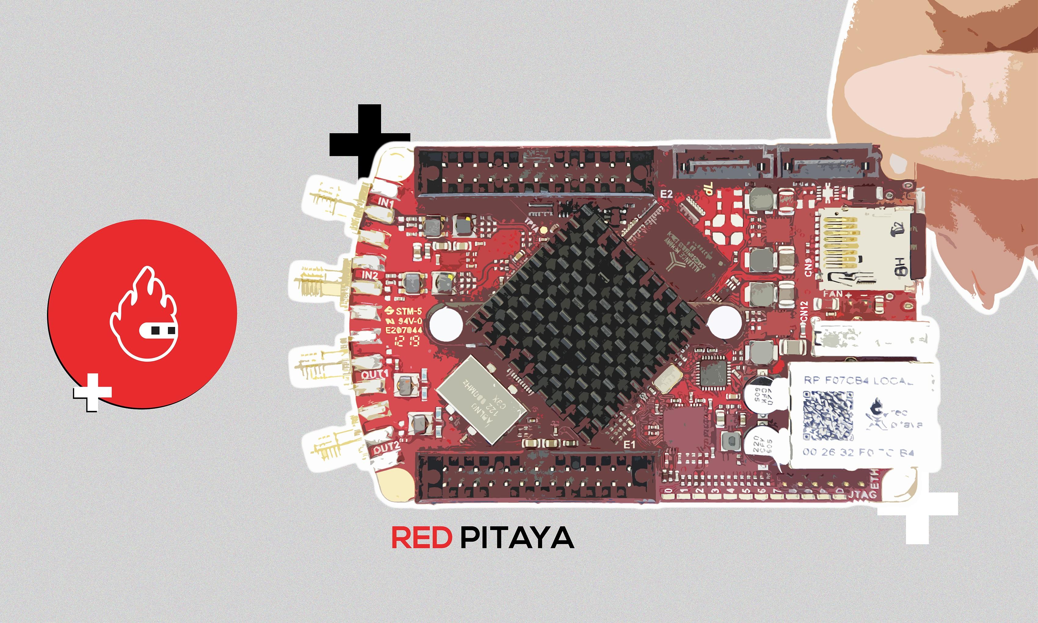 Red Pitaya for SDR